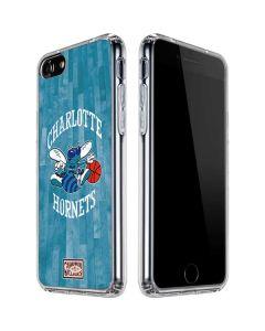 Charlotte Hornets Hardwood Classics iPhone SE Clear Case