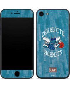 Charlotte Hornets Hardwood Classics iPhone SE Skin