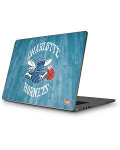 Charlotte Hornets Hardwood Classics Apple MacBook Pro 17-inch Skin