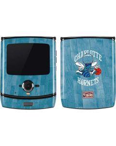 Charlotte Hornets Hardwood Classics Motorola RAZR Skin