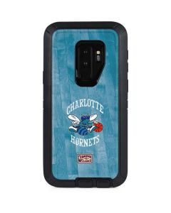 Charlotte Hornets Hardwood Classics Otterbox Defender Galaxy Skin
