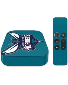 Charlotte Hornets Large Logo Apple TV Skin