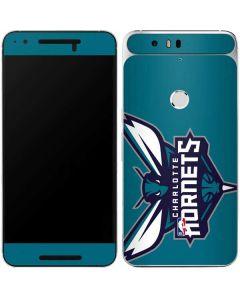 Charlotte Hornets Large Logo Google Nexus 6P Skin
