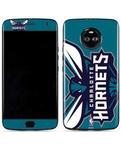 Charlotte Hornets Large Logo Moto X4 Skin