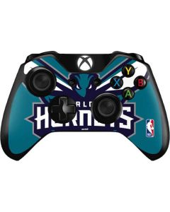 Charlotte Hornets Large Logo Xbox One Controller Skin