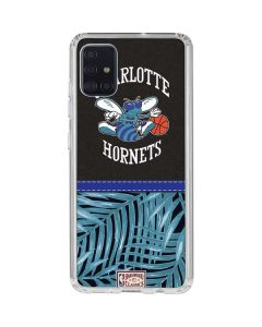 Charlotte Hornets Retro Palms Galaxy A51 Clear Case