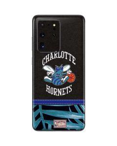 Charlotte Hornets Retro Palms Galaxy S20 Ultra 5G Skin
