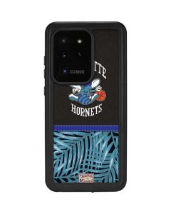 Charlotte Hornets Retro Palms Galaxy S20 Ultra 5G Waterproof Case
