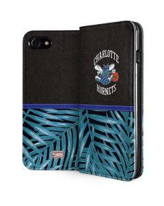 Charlotte Hornets Retro Palms iPhone SE Folio Case