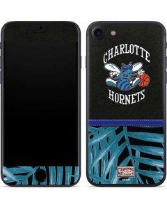 Charlotte Hornets Retro Palms iPhone SE Skin