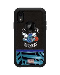 Charlotte Hornets Retro Palms Otterbox Defender iPhone Skin
