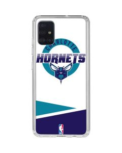 Charlotte Hornets Split Galaxy A51 Clear Case