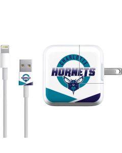 Charlotte Hornets Split iPad Charger (10W USB) Skin