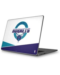 Charlotte Hornets Split Apple MacBook Pro 17-inch Skin