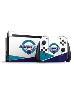 Charlotte Hornets Split Nintendo Switch Bundle Skin