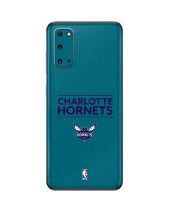 Charlotte Hornets Standard - Blue Galaxy S20 Skin