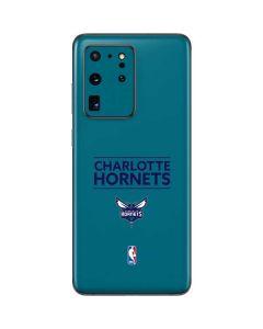 Charlotte Hornets Standard - Blue Galaxy S20 Ultra 5G Skin
