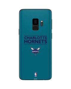 Charlotte Hornets Standard - Blue Galaxy S9 Skin