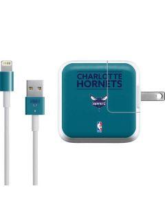 Charlotte Hornets Standard - Blue iPad Charger (10W USB) Skin