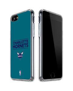 Charlotte Hornets Standard - Blue iPhone SE Clear Case
