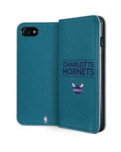 Charlotte Hornets Standard - Blue iPhone SE Folio Case