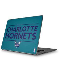 Charlotte Hornets Standard - Blue Apple MacBook Pro 17-inch Skin