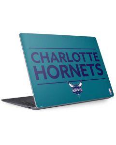 Charlotte Hornets Standard - Blue Surface Laptop 3 13.5in Skin