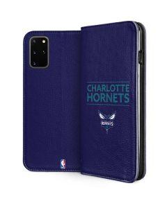 Charlotte Hornets Standard - Purple Galaxy S20 Plus Folio Case