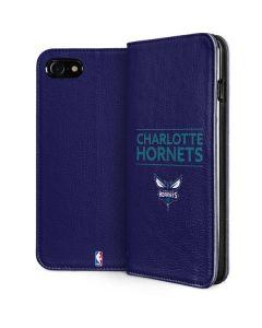 Charlotte Hornets Standard - Purple iPhone SE Folio Case