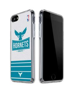 Charlotte Hornets Static iPhone SE Clear Case