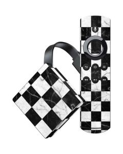 Checkered Marble Amazon Fire TV Skin