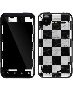Checkered Marble Droid Incredible 2 Skin