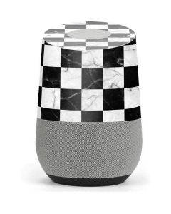 Checkered Marble Google Home Skin