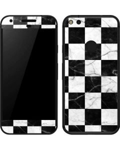 Checkered Marble Google Pixel Skin