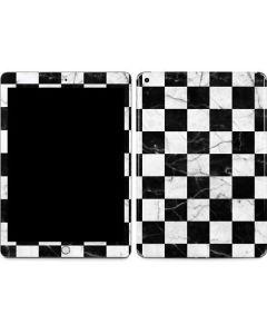 Checkered Marble Apple iPad Skin