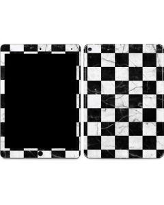 Checkered Marble Apple iPad Air Skin