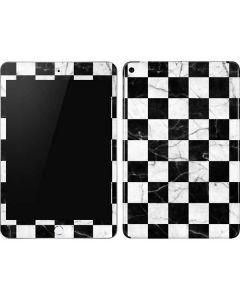 Checkered Marble Apple iPad Mini Skin