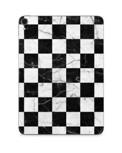 Checkered Marble Apple iPad Pro Skin