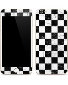 Checkered Marble iPhone 6/6s Plus Skin