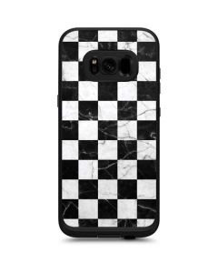 Checkered Marble LifeProof Fre Galaxy Skin