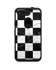 Checkered Marble LifeProof Fre Google Skin