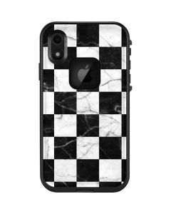 Checkered Marble LifeProof Fre iPhone Skin