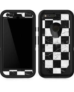 Checkered Marble Otterbox Defender Pixel Skin