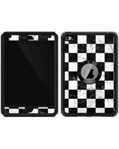 Checkered Marble Otterbox Defender iPad Skin