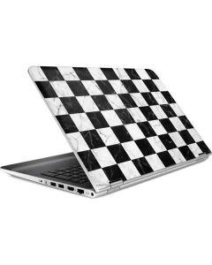 Checkered Marble HP Pavilion Skin