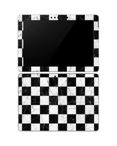 Checkered Marble Surface Go Skin