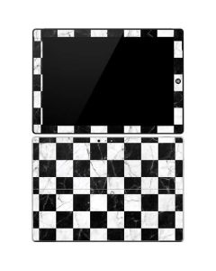Checkered Marble Surface Pro 3 Skin