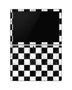 Checkered Marble Surface Pro 6 Skin