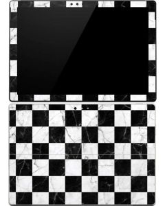 Checkered Marble Surface Pro (2017) Skin