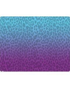 Cheetah Print Purple and Blue Generic Laptop Skin